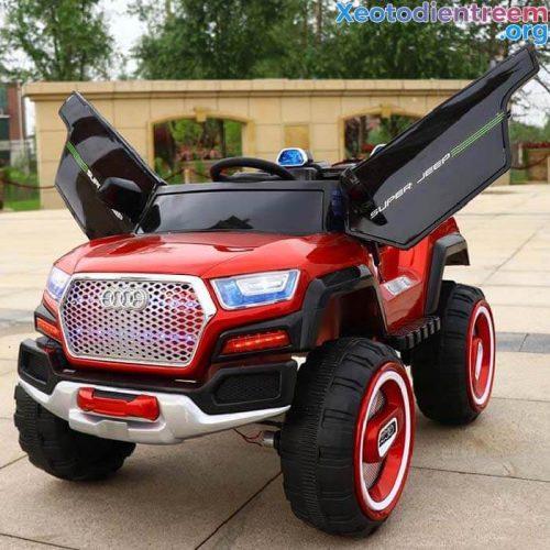 Xe hơi điện Jeep 198 cực ngầu cho bé