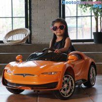 Xe hơi điện trẻ em CL6166 bóng đẹp