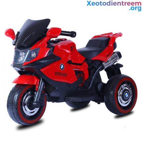 Xe moto điện trẻ em 518 có đèn bánh