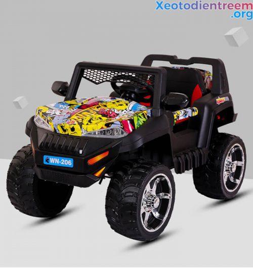 Xe ô tô điện địa hình cho trẻ WN-206