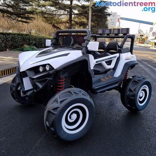 Xe ô tô điện cho bé XJL588 có quạt gió