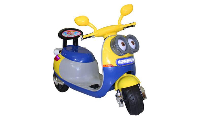 xe máy điện dễ thương cho bé gái 2