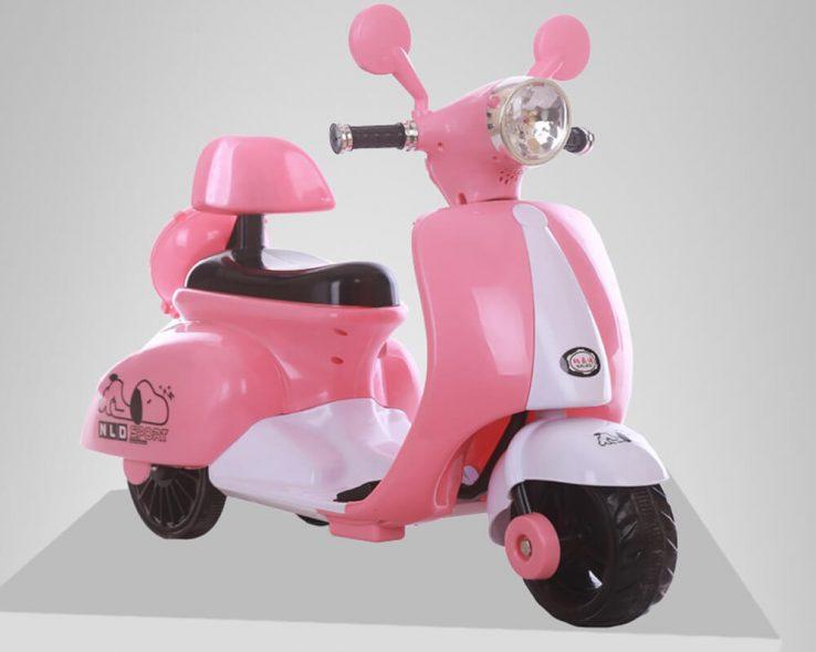 xe máy điện dễ thương cho bé gái 3