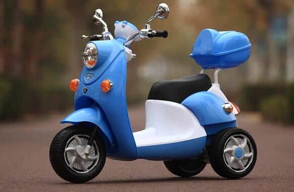 xe máy điện dễ thương cho bé gái 4