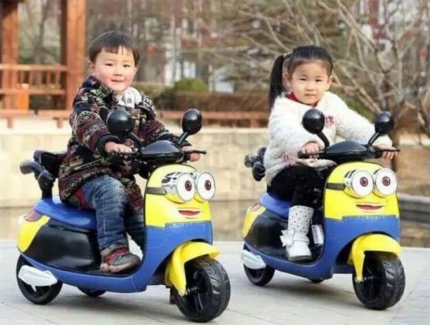 lợi ích tuyệt vời mà xe máy điện trẻ em mang lại 3
