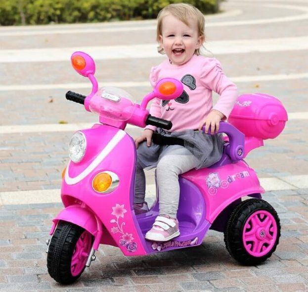lợi ích của xe máy điện trẻ em