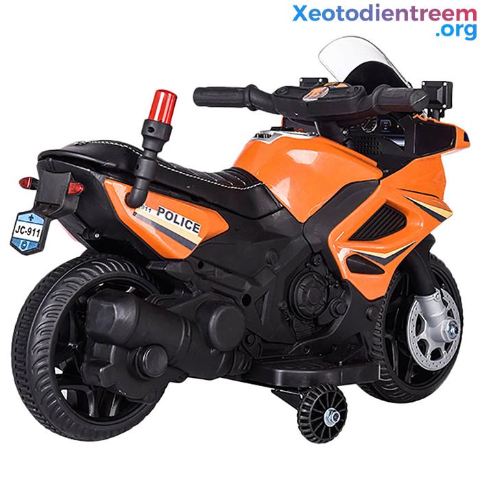 Xe moto điện trẻ em Police JC911 11