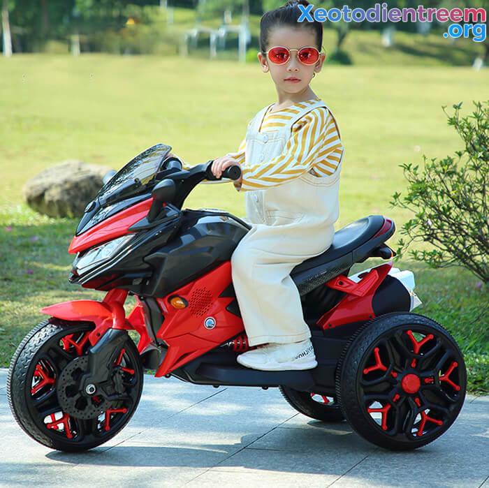 Xe mô tô điện 3 bánh cho bé 5188 1
