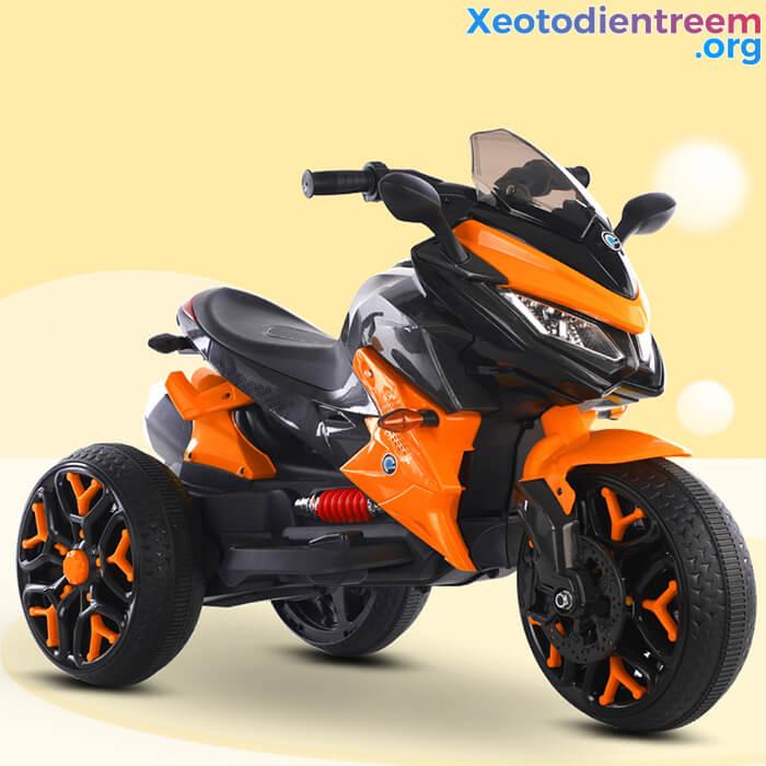 Xe mô tô điện 3 bánh cho bé 5188 10