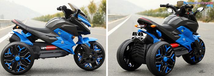 Xe mô tô điện 3 bánh cho bé 5188 11