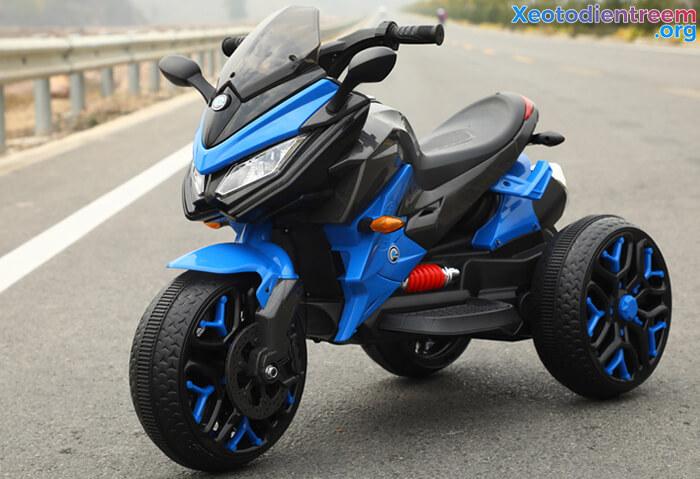 Xe mô tô điện 3 bánh cho bé 5188 12
