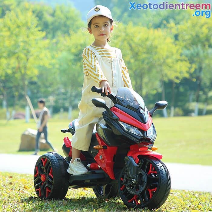 Xe mô tô điện 3 bánh cho bé 5188 2