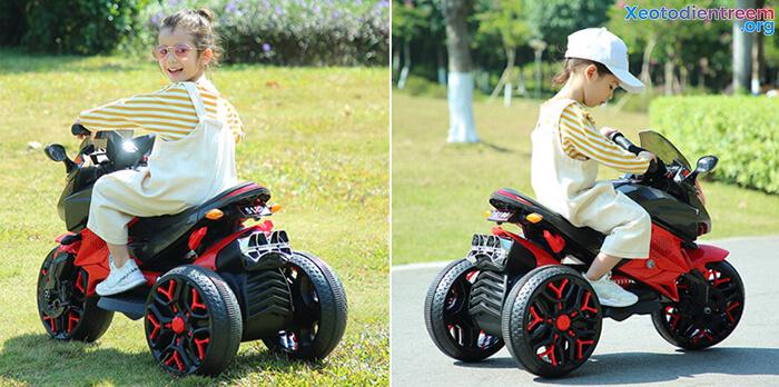 Xe mô tô điện 3 bánh cho bé 5188 5