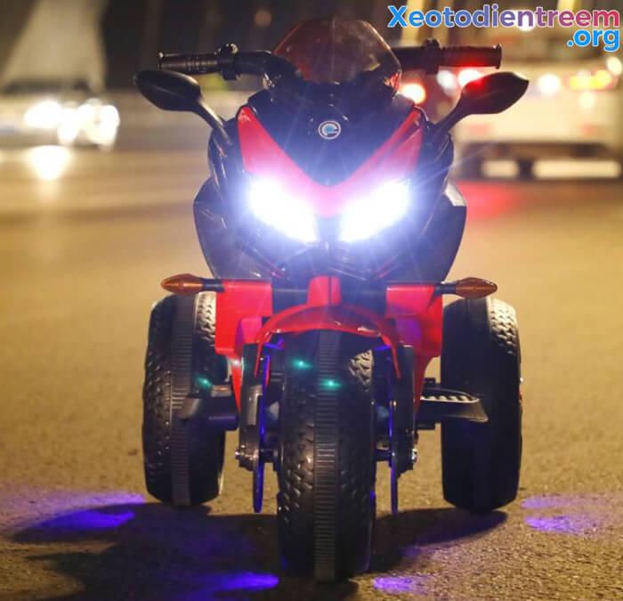 Xe mô tô điện 3 bánh cho bé 5188 6