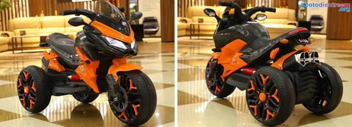 Xe mô tô điện 3 bánh cho bé 5188 8