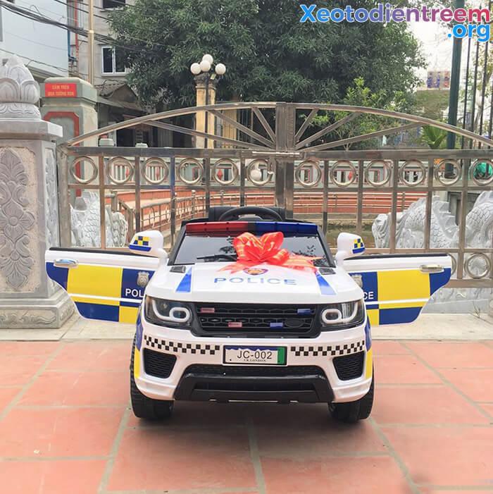 Ô tô điện cảnh sát cho trẻ em JC-002 1