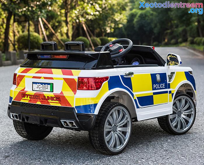 Ô tô điện cảnh sát cho trẻ em JC-002 10