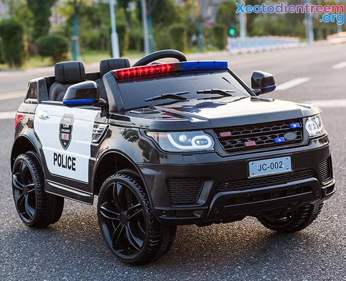 Ô tô điện cảnh sát cho trẻ em JC-002 11