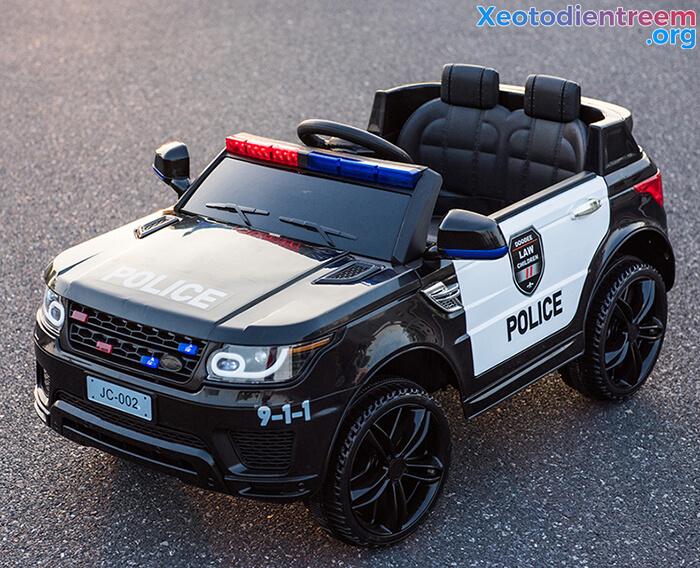 Ô tô điện cảnh sát cho trẻ em JC-002 12