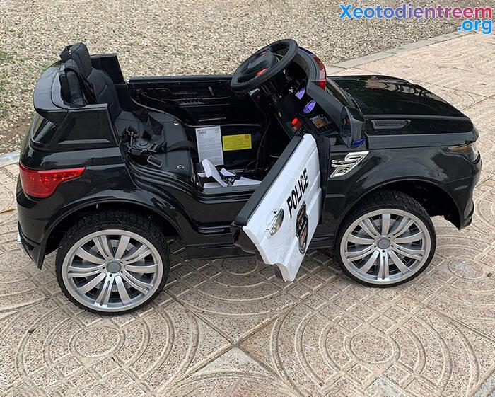 Ô tô điện cảnh sát cho trẻ em JC-002 13