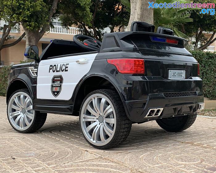 Ô tô điện cảnh sát cho trẻ em JC-002 14