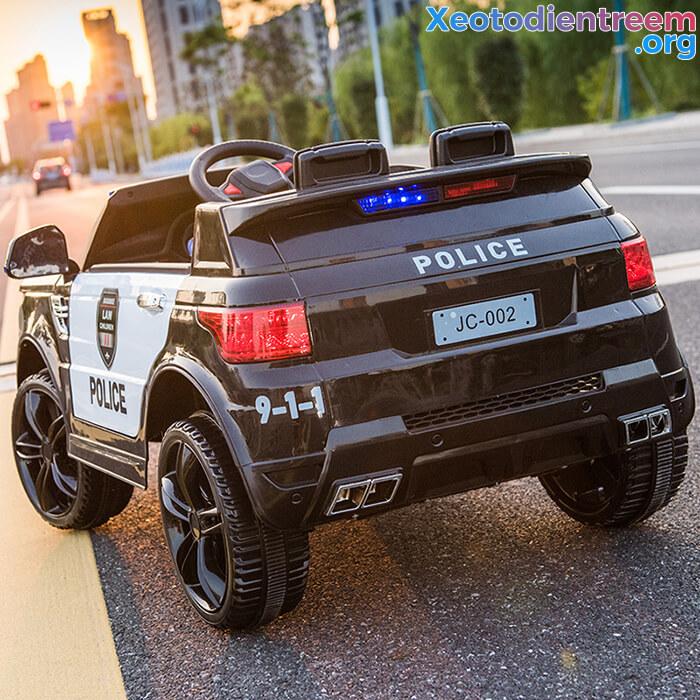 Ô tô điện cảnh sát cho trẻ em JC-002 15