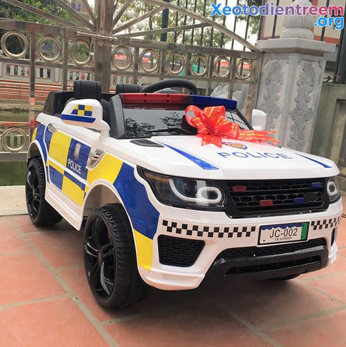 Ô tô điện cảnh sát cho trẻ em JC-002 2