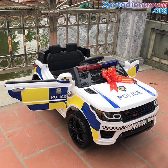 Ô tô điện cảnh sát cho trẻ em JC-002 3