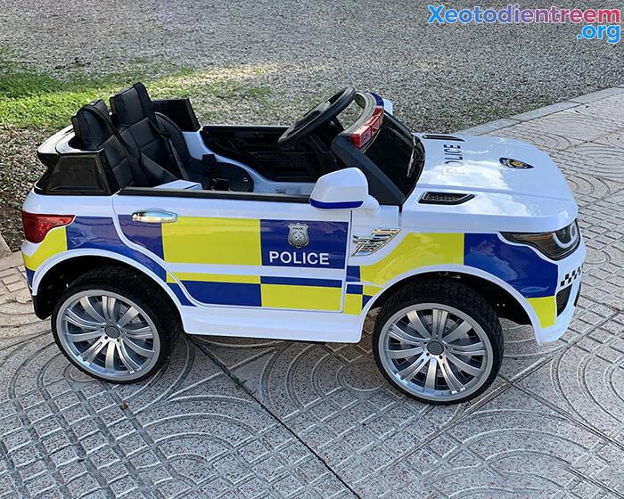 Ô tô điện cảnh sát cho trẻ em JC-002 4