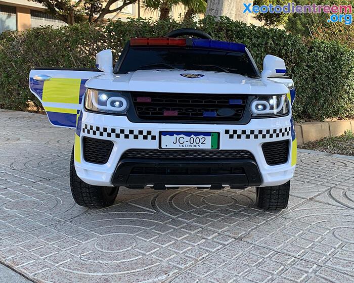 Ô tô điện cảnh sát cho trẻ em JC-002 5