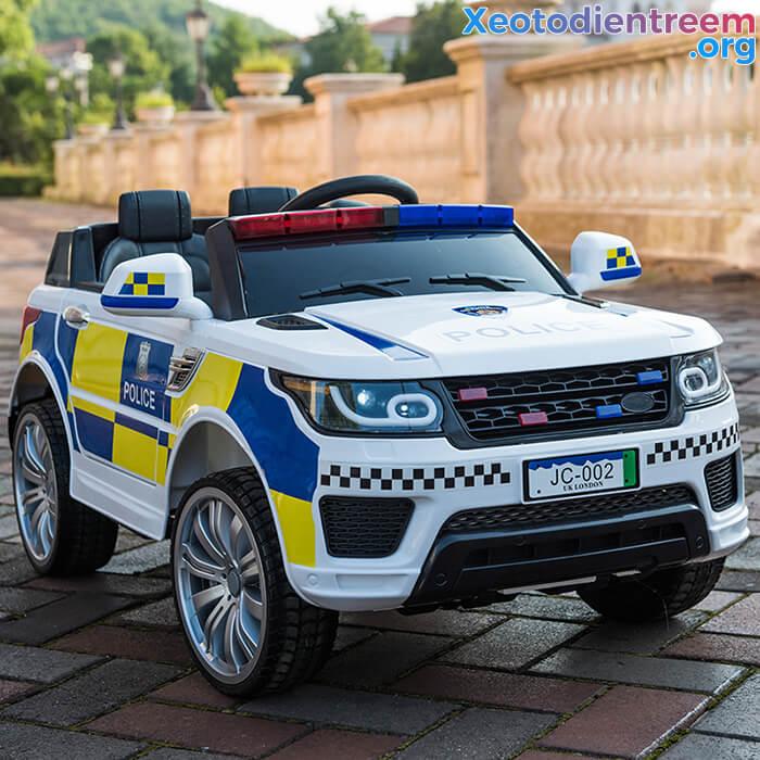 Ô tô điện cảnh sát cho trẻ em JC-002 6