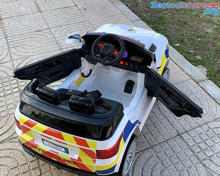 Ô tô điện cảnh sát cho trẻ em JC-002 7
