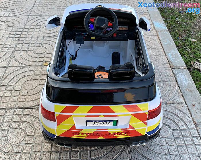 Ô tô điện cảnh sát cho trẻ em JC-002 8