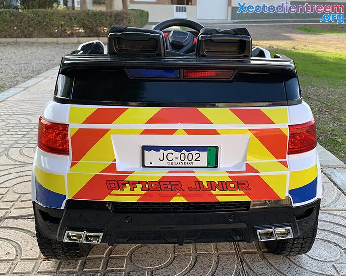 Ô tô điện cảnh sát cho trẻ em JC-002 9