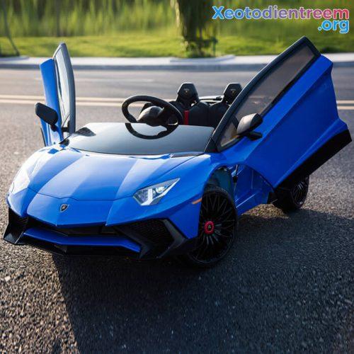 Ô tô điện cho bé siêu sang Lamborghini Aventador BDM-0913
