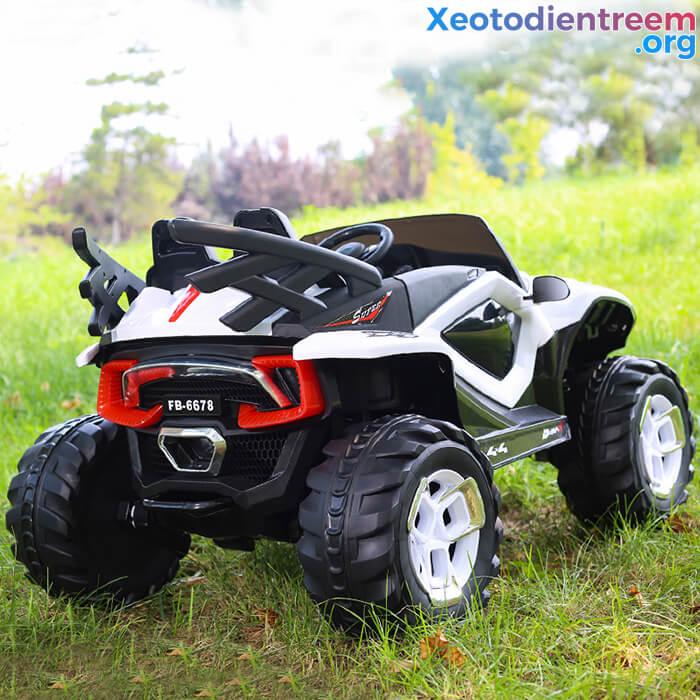 Xe ô tô điện kiểu jeep cho trẻ FB-6678 10
