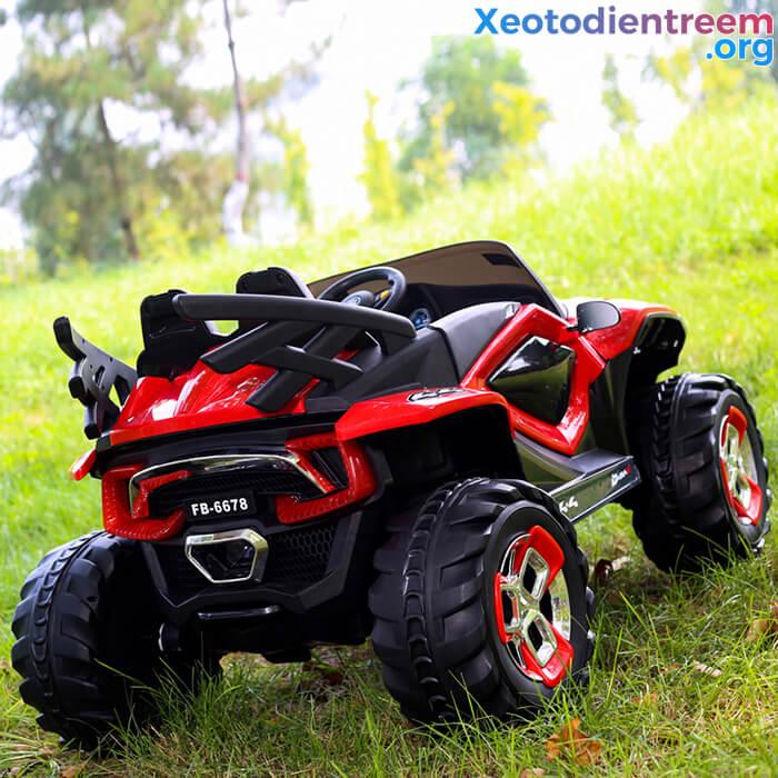 Xe ô tô điện kiểu jeep cho trẻ FB-6678 13