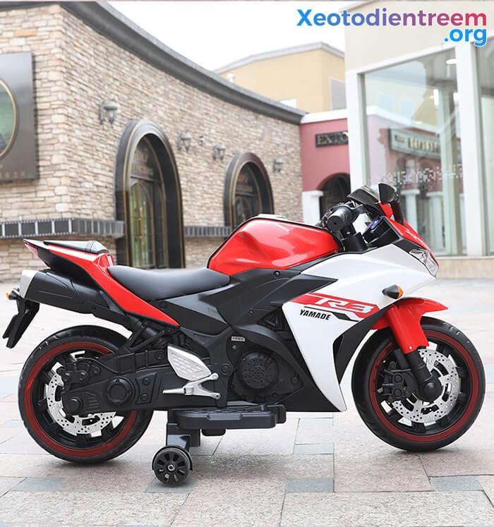 Xe mô tô điện thể thao trẻ em N-888 10
