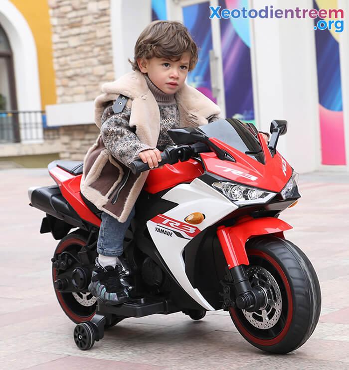 Xe mô tô điện thể thao trẻ em N-888 11