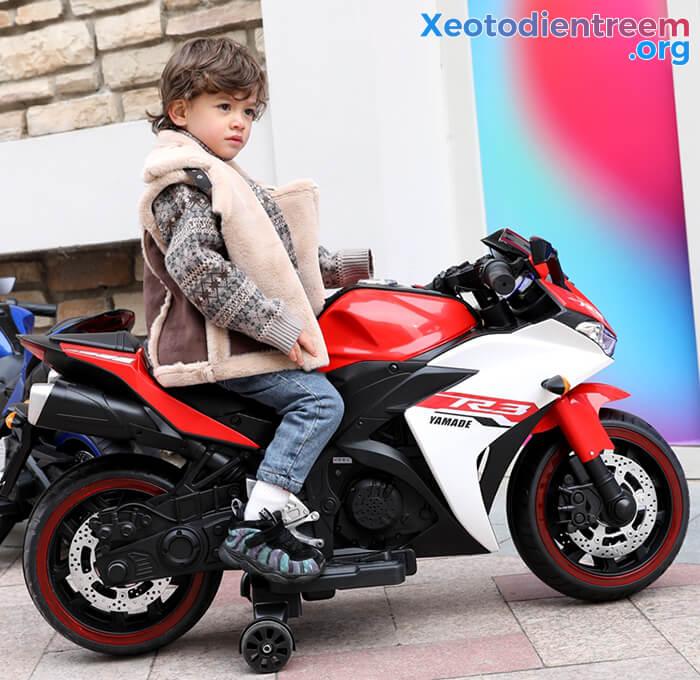 Xe mô tô điện thể thao trẻ em N-888 12