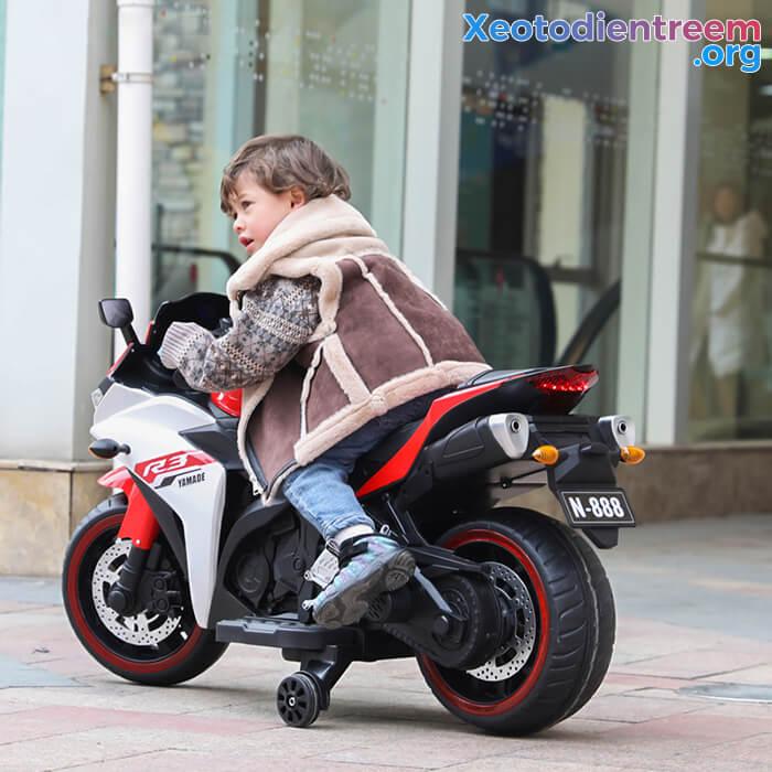 Xe mô tô điện thể thao trẻ em N-888 13