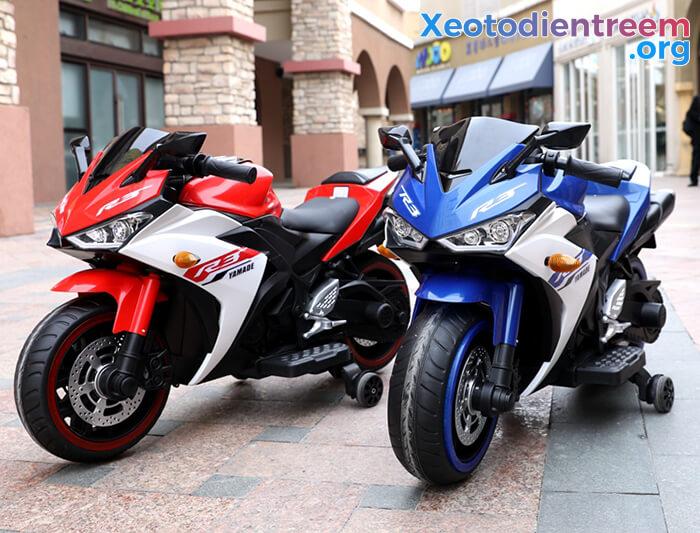 Xe mô tô điện thể thao trẻ em N-888 2