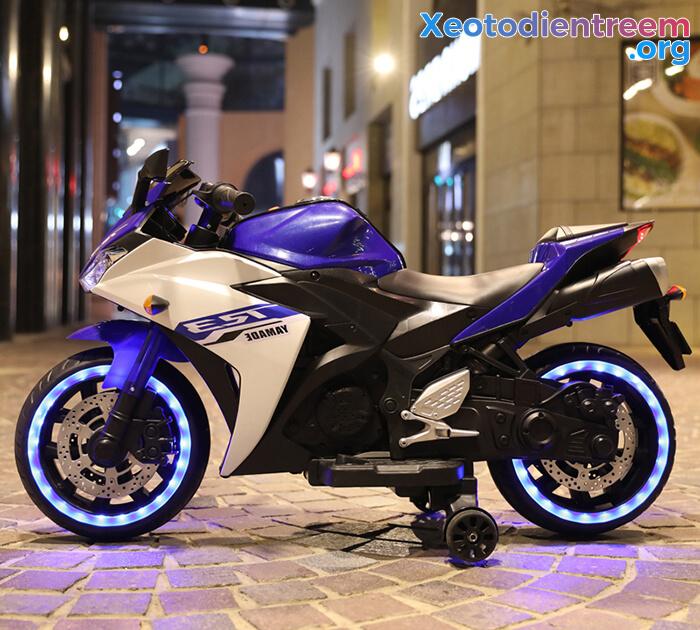 Xe mô tô điện thể thao trẻ em N-888 3