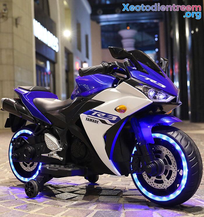 Xe mô tô điện thể thao trẻ em N-888 4
