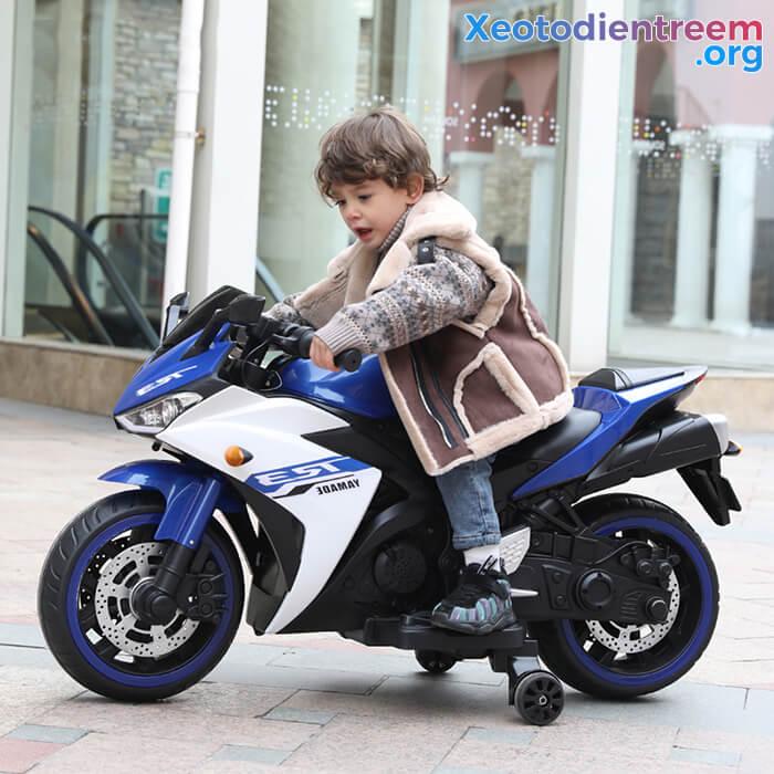 Xe mô tô điện thể thao trẻ em N-888 5