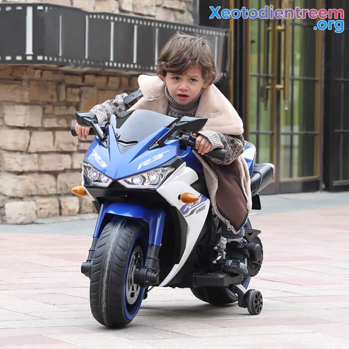 Xe mô tô điện thể thao trẻ em N-888 6