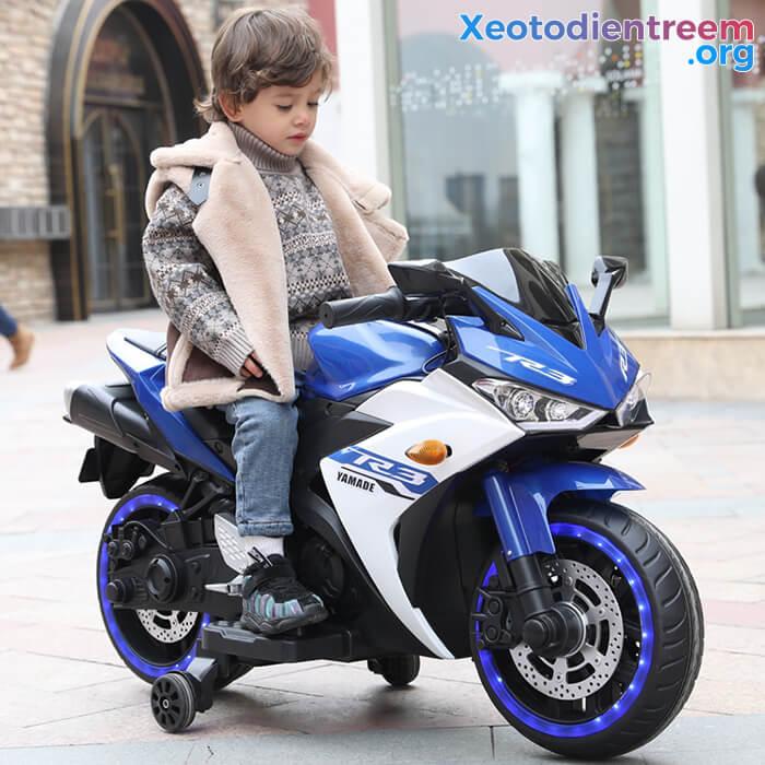Xe mô tô điện thể thao trẻ em N-888 7