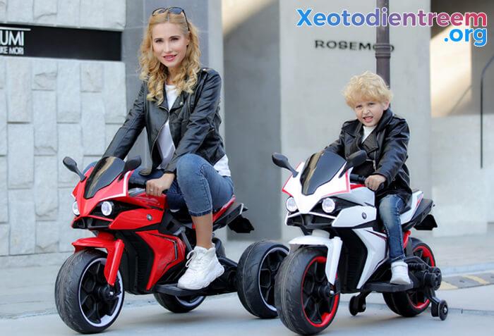 Xe mô tô điện trẻ em Police 3288 1