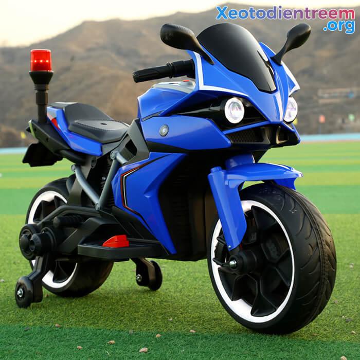 Xe mô tô điện trẻ em Police 3288 10