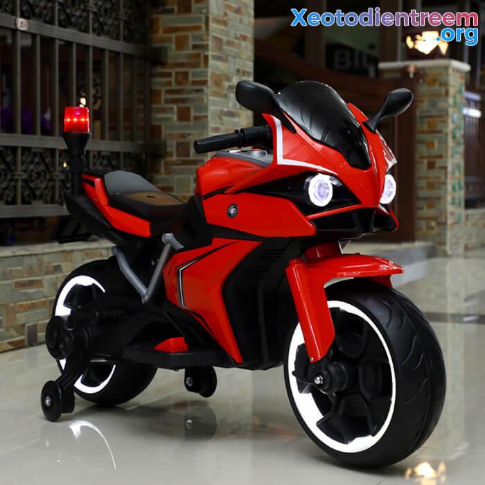 Xe mô tô điện trẻ em Police 3288 12